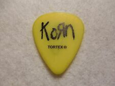 GUITAR PICK   Brian HEAD Welch's pick - Korn tour issue guitar pick  Stage