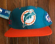 e85ed3c6d66 Vintage 90s Miami Dolphins Starter Fitted 5950 Wool Hat NFL 7 3 8