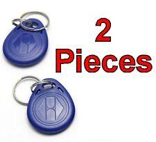 Lot de 2 x RFID 125Khz Writable Rewrite RFID Transponder Key Tags Keyfobs