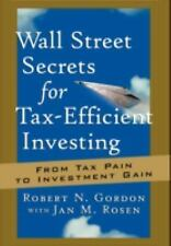 Bloomberg: Wall Street Secrets for Tax-Efficient Investing : From Tax Pain to...