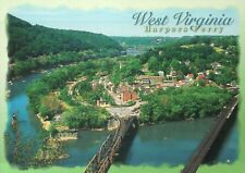 Harpers Ferry West Virginia, National Historical Park, John Brown Raid, Postcard