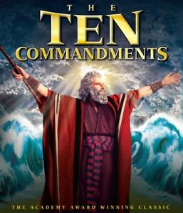 The Ten Commandments [New Blu-ray] 2 Pack, Ac-3/Dolby Digital, Dolby,