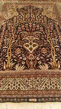 New listing 100% Silk Turkish Hereke superfine rug hand-made 1156 kpsi carpet 2.5'x3' 9.5