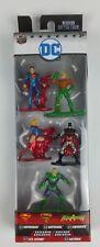 DC Comics Nano Metalfigs Superman Supergirl Batman Aquaman Lex Luthor New In Box