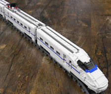 LOCOMOTIVE PASSENGER TRAIN REMOTE CONTROL TOY EXPRESS HIGH SPEED BUILDING SET