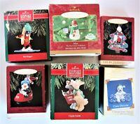 Lot 6 Hallmark Keepsake Christmas Ornaments 1990, 1993, 1994, 2000, 2005 - s#2