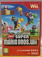 Nintendo Wii - New Super Mario Bros! *Cleaned & Tested!* 1 DAY DISPATCH!*