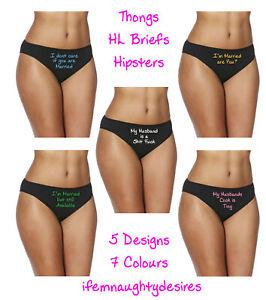 Naughty Worded Thong, Briefs, Shorts Erotic Swinger Hotwife Cuckold 1