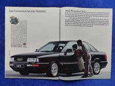 Audi 90 quattro 20V - Werbeanzeige Reklame Advertisement 1989 __ (496