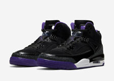 Jordan Spizike Black Court Purple 315371-051 Basketball Shoes Men's Multi Size