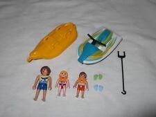 Playmobil Seaside Jet-ski with Banana Water Float - set 6980 VGC