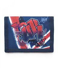 Delbag Union Jack UK Ragazze Da Uomo Blu Wallet Portamonete
