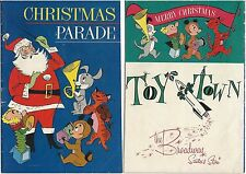 March Of Comics 284 Christmas Parade Rare Mini Christmas Comic Giveaway Promo Vg
