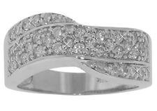 Anniversary Band 18 kt White Gold 1.50 ct Tw Ladies Round Cut Diamond