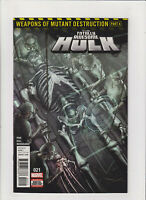 Totally Awesome Hulk #21 NM- 9.2 1st Prt. Marvel Comics 1st Weapon H Cameo