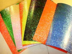 "12"" x 8"" CRUSHED PEARL MATTE Bulk Fishing Lure Tapes In 8 Colors"