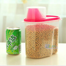 1.9L Plastic Dry Dried Food Cereals Pasta Nuts Storage Dispenser Container Box