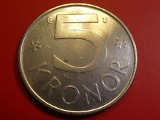 Sweden 5 Kronor, 1982