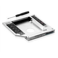 12,7mm IDE 2nd HDD/SSD Caddy Festplatte Einbaurahmen Rahmen Laptop