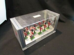 Vintage William Britain Metal Toy Soldiers The Scots Guards Figures 10 New Boxed