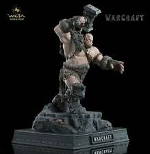 WETA COLLECTIBLES WARCRAFT STATUE 1/10 ORGRIM 33 CM NUOVO NEW BOX SEALED