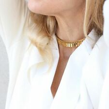 NEW JENNY BIRD Raya Choker Necklace Gold