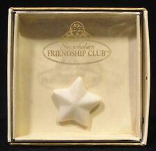 "DEPARTMENT 56 SNOWBABIES ""STAR BRIGHT"" FRIENDSHIP CLUB LAPEL PIN IN ORIGINAL BOX"