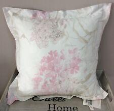 Blumarine   Home cuscino arredo flaminia  raso di cotone colore rosa 50x50