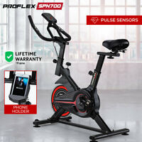 NEW PROFLEX Spin Bike Flywheel Commercial Gym Exercise Home Fitness Red