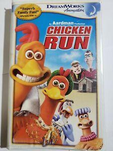 Chicken Run (VHS, 2000) Clamshell Packaging