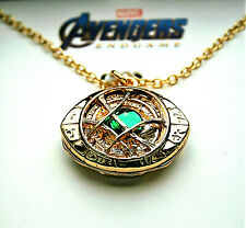 Marvel Comics Dr. Doctor Strange Eye Agamotto Infinity Necklace Pendant New Box