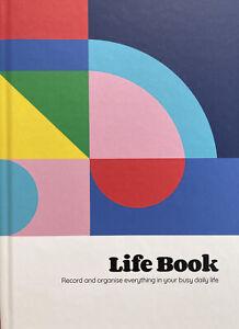 Nolki Life Book - Life Admin Organiser And Journal - Hardback Notebook
