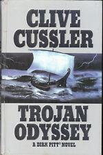 Trojan Odyssey by Clive Cussler - LARGE PRINT HARDBACK - AUST SELLER FAST POST!!