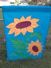 Vintage New Sunflower 28 x 40 Large Garden Decorative Flag