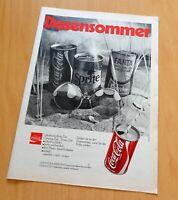 Nr.51) Coca Cola Sprite Fanta alte Werbeanzeige 1970 Reklame advertising ad