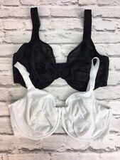 36DD Bra Bundle x2 WIRE FREE bras in EX M&S ladies lingerie (1317)