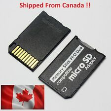 Micro SD TF to Memory Stick MS Pro Duo PSP Card Adapter Converter