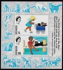 Grenada postfris 1970 MNH blok 4 - Honden / Dogs (hbg015)