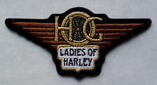 HARLEY DAVIDSON OWNERS GROUP HOG LADIES OF HARLEY LOH CHAPTER PATCH