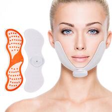 Electric Pulse Cheek Chin EMS Facial Lift Massager Anti-aging Slimming Shaper