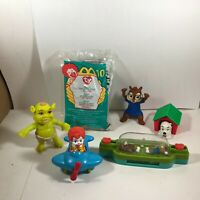 Lot of 6 Vintage McDonalds Happy Meal Toys