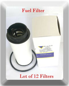 12 x Fuel Filter Fits Fuso Canter FE125 Canter FE160 Canter FE180 Canter FG4X4