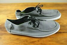 Vans Mens Shoes Casual Skate Surf Siders Size Men's 13 - Gray