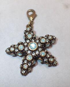 Heidi Daus Charm Rhinestone Starfish Swarovski Crystals