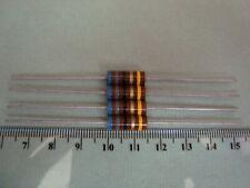 4 pcs.,  Allen Bradley, Widerstand, Carbon Comp Resistors  68 ohm 1W, 5%, NOS