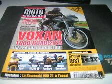 *** Moto Magazine n°157 Kawasaki Z 900 / Suzuki 1200 GSX / Gilera Coguar