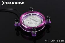 Barrow Purple Intel Round CPU Water Block With RGB Lighting - A60