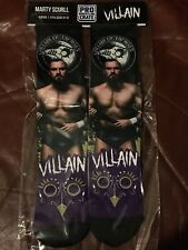 Pro Wrestling Crate EXCLUSIVE Villain Marty Scull Socks 6-13