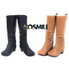 1/3 1/4 SD DD BJD Shoes Combat Boot Mid-calf Boots BJD Accessory Cosplay DH