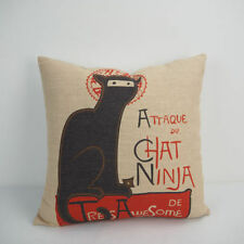 Cat Cartoon Decorative Cushions & Pillows